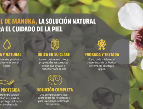 Miel de Manuka, la solución natural para el cuidado de la piel periestomal