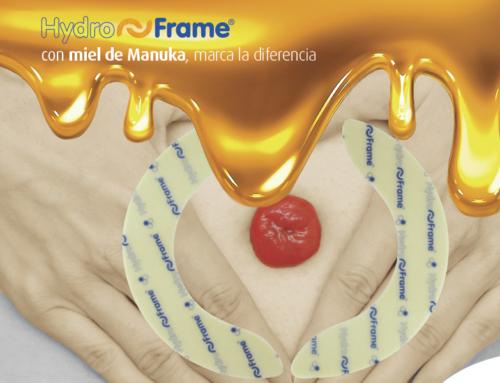 HydroFrame® con miel de Manuka, marca la diferencia